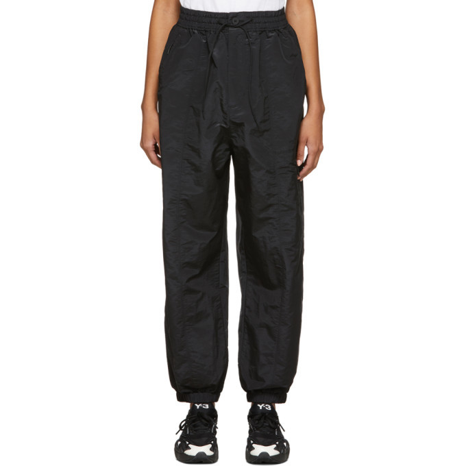 Photo: Y-3 Black Classic Shell Lounge Pants