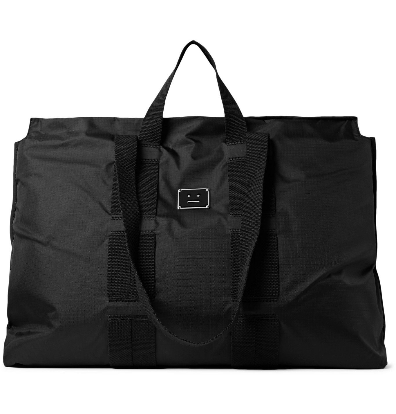 Photo: Acne Studios - Logo-Appliquéd Ripstop Tote Bag - Black