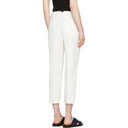 3.1 Phillip Lim White Tailored Carrot Trousers
