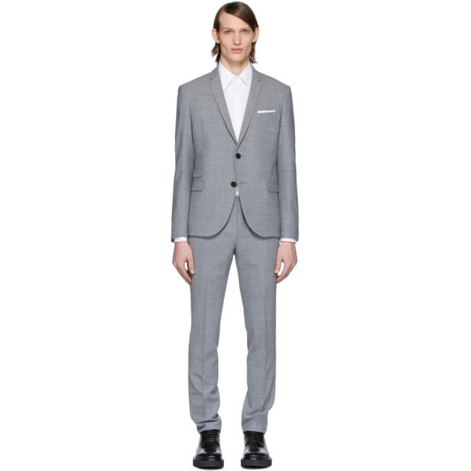 Photo: Neil Barrett Grey Fine Travel Suit