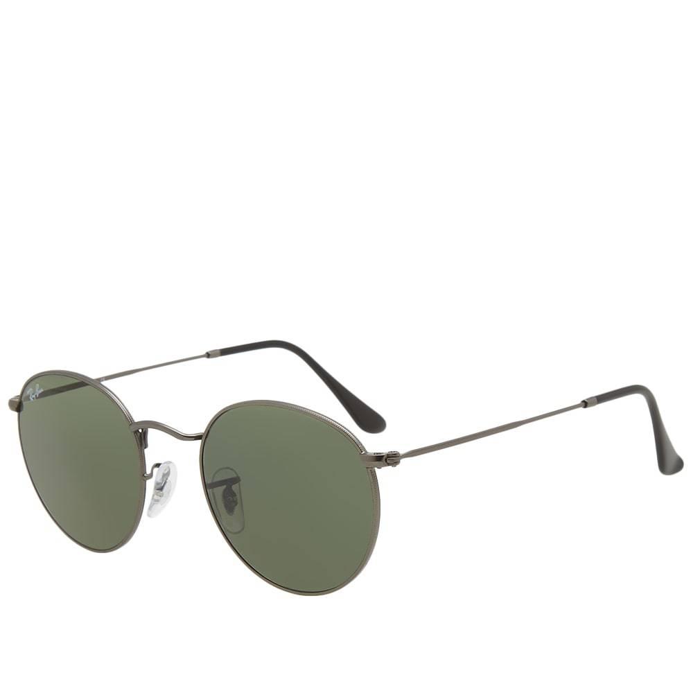 Photo: Ray Ban Round Sunglasses Silver
