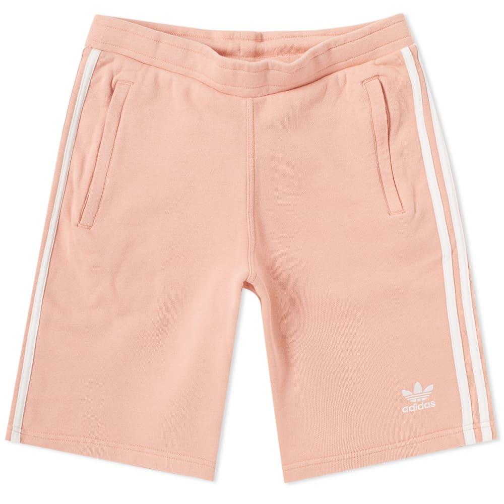 Adidas 3 Stripe Short Pink