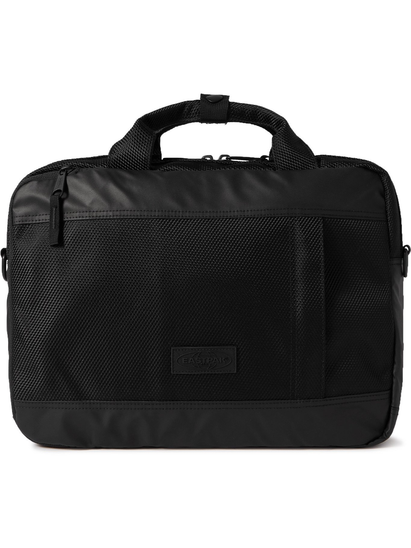 Photo: EASTPAK - Acton CNNCT Coated-Canvas Briefcase