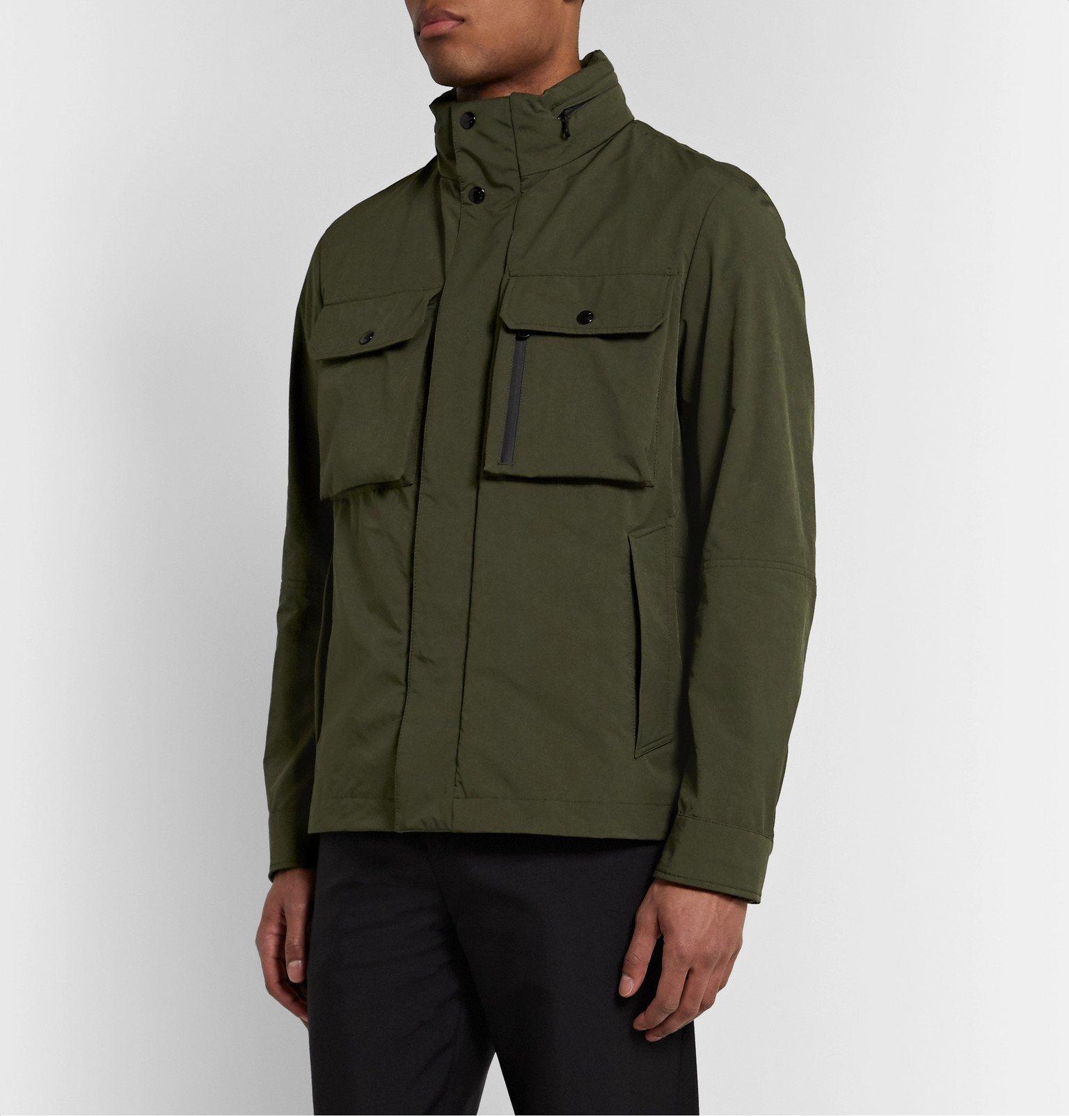Moncler - Var Brushed-Shell Field Jacket - Green