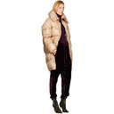 Nina Ricci Pink Long Down Coat