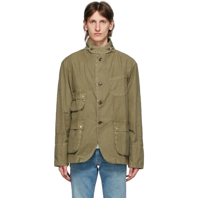 Photo: Barbour Tan Engineered Garments Edition Upland Casual Jacket