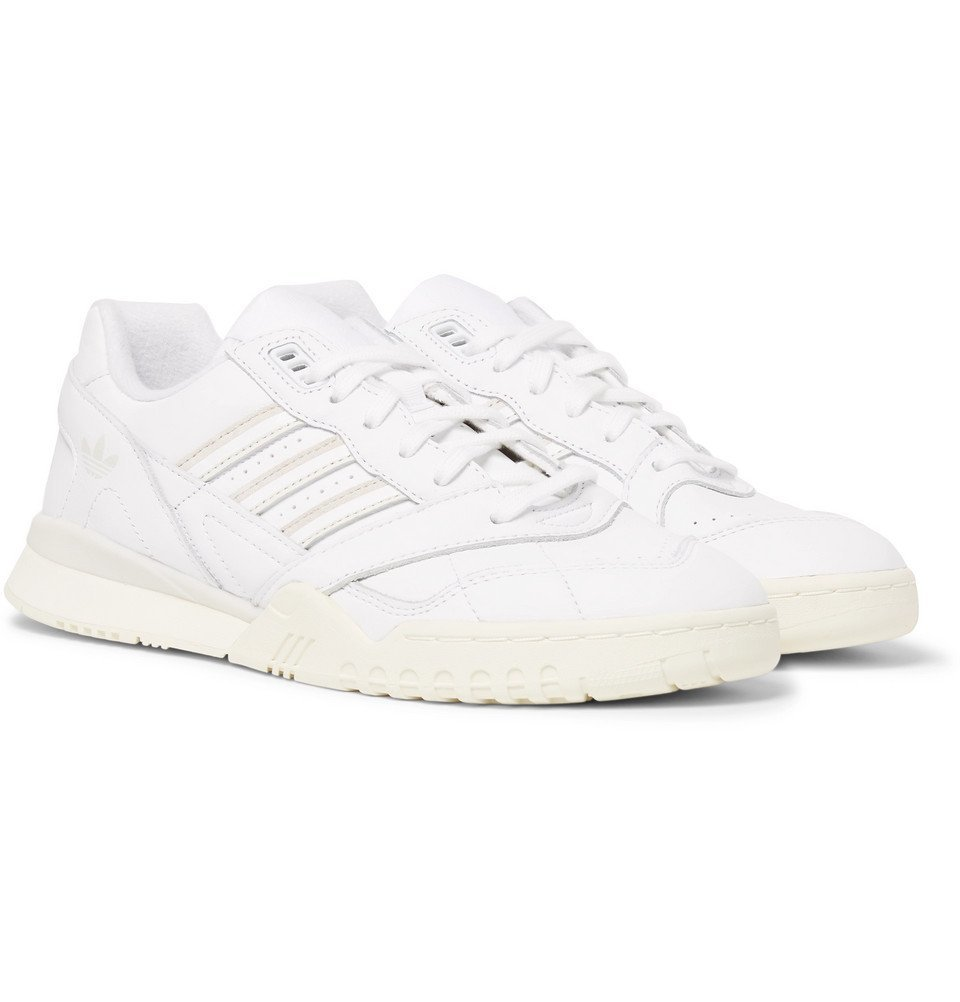 adidas Originals - A.R. Trainer Leather Sneakers - Men - White