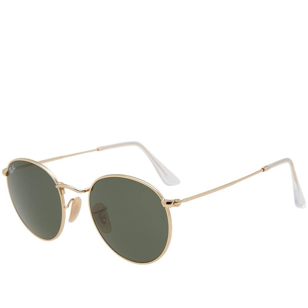 Photo: Ray Ban Round Sunglasses Gold
