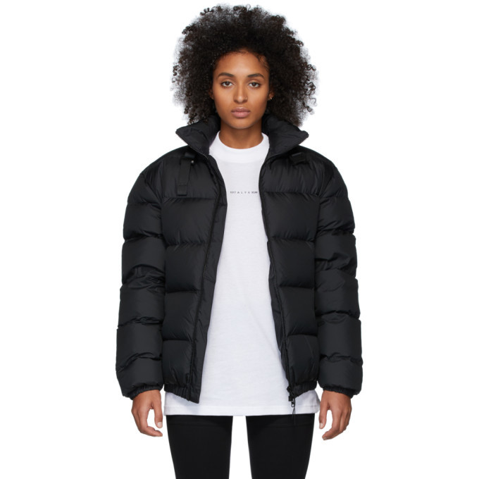 Photo: 1017 ALYX 9SM Black Down Buckle Puffer Jacket