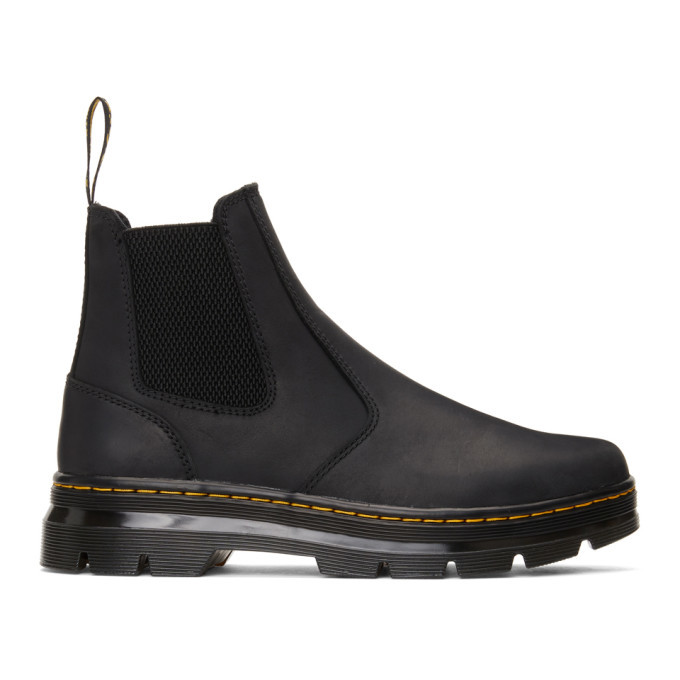 Photo: Dr. Martens Black 2976 Tract Boots