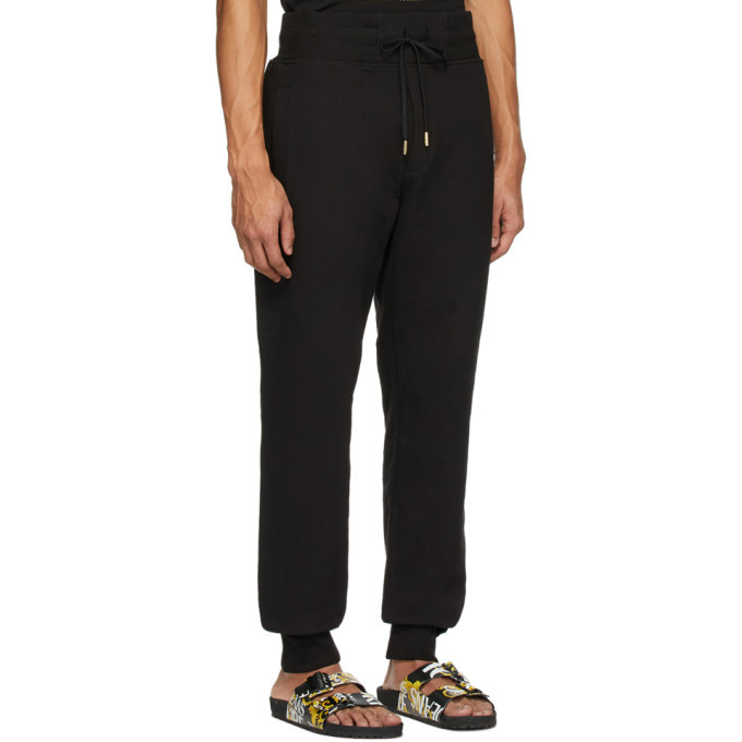Versace Jeans Couture Black and Gold Icon Lounge Pants