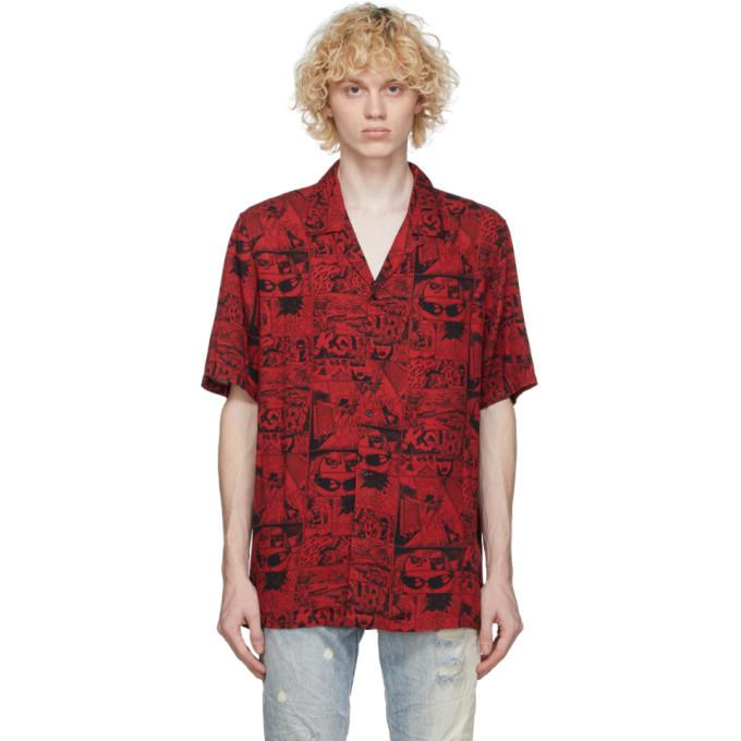 Photo: Ksubi Red Clash Short Sleeve Shirt