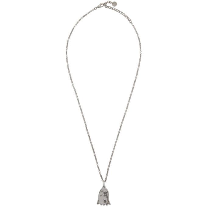 Photo: Gucci Silver GucciGhost Necklace