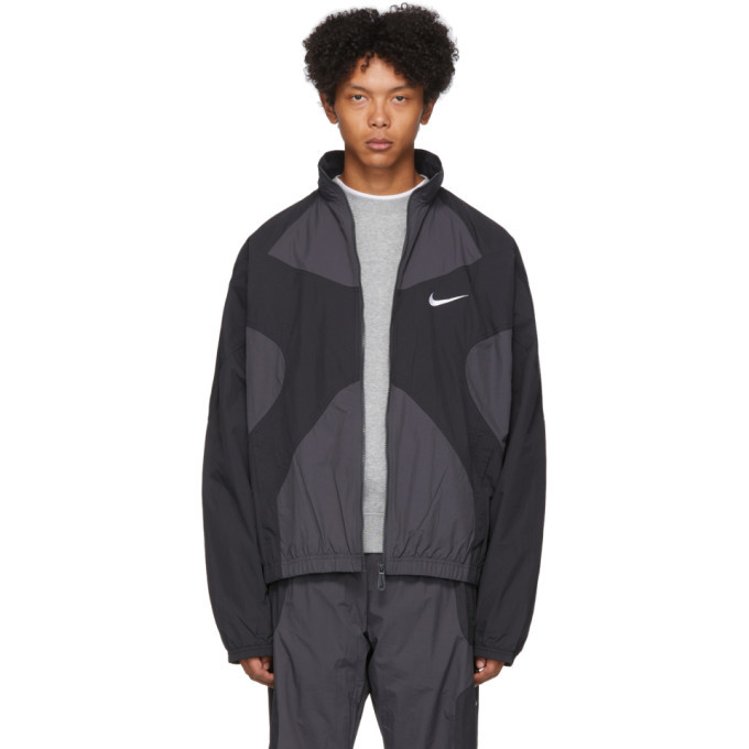 Photo: Nike Black and Grey NSW Re-Issue Jacket