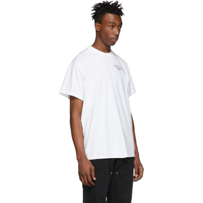Billy White Small Collection Logo T-Shirt
