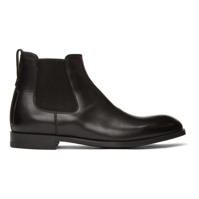 Photo: Ermenegildo Zegna Black Siena Flex Chelsea Boots
