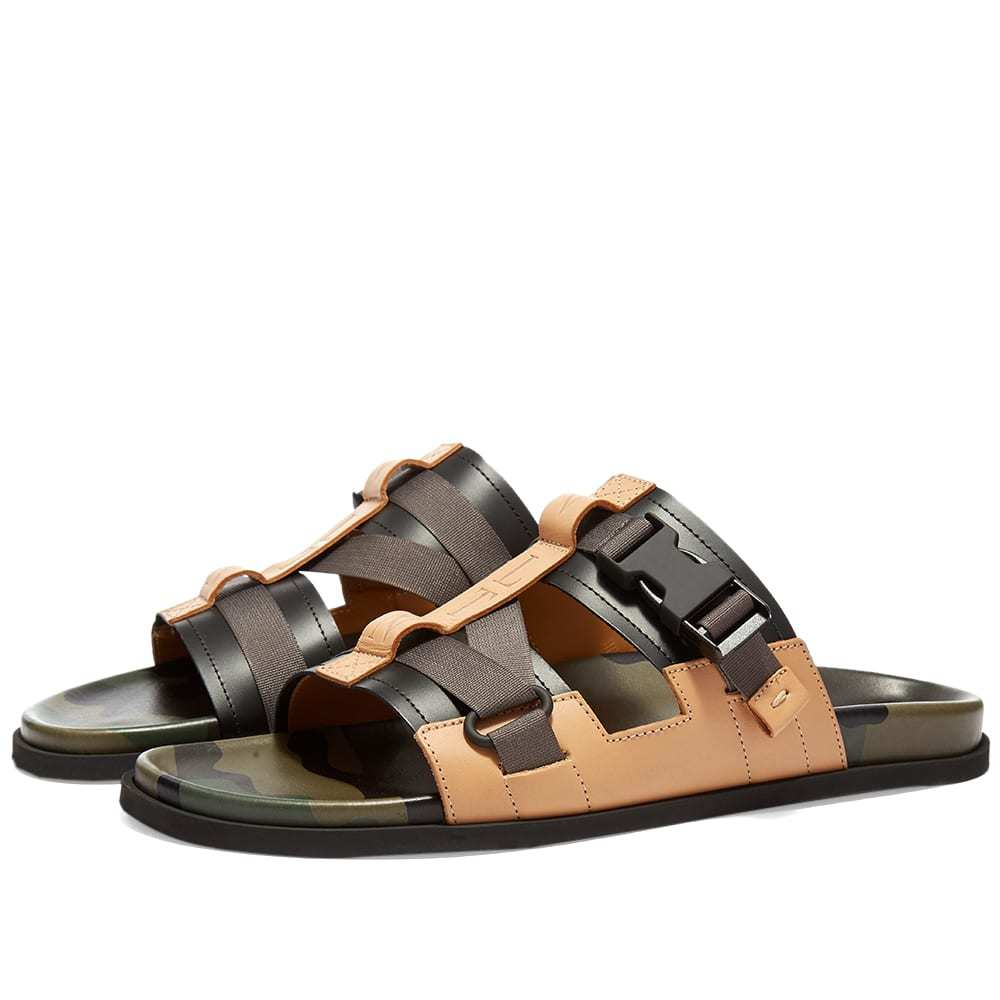 Photo: Valentino VLTN Leather Strapped Sandal