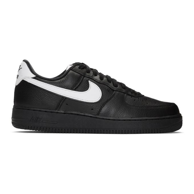 Photo: Nike Black Retro QS Air Force 1 Sneakers