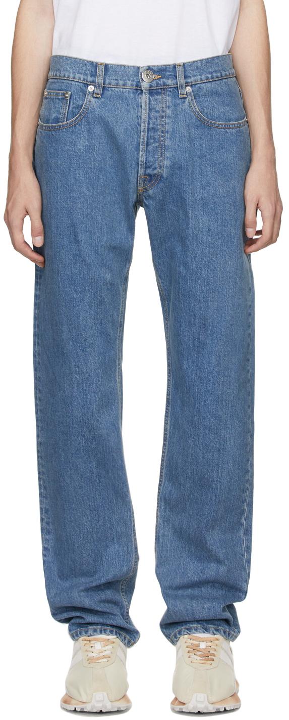 Photo: Lanvin Blue Slim Jeans