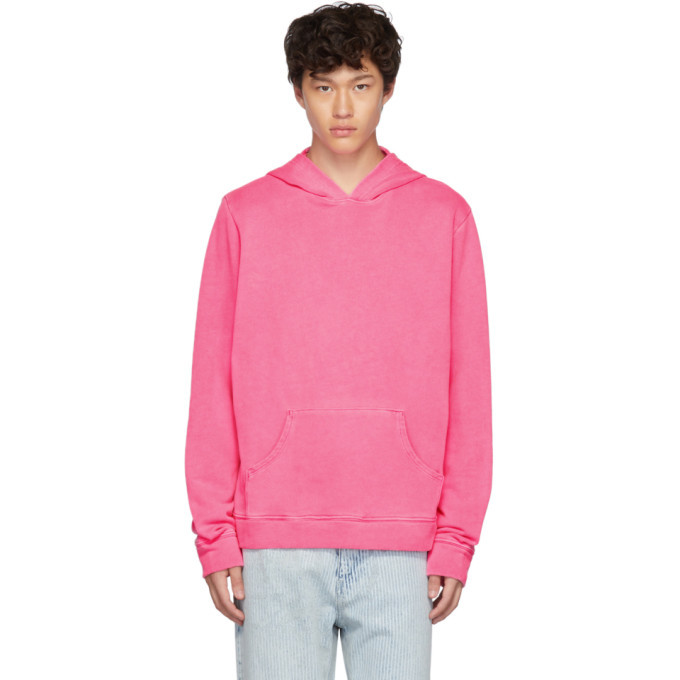 Photo: The Elder Statesman Pink Fleece Swirl Hoodie