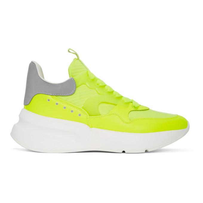 Photo: Alexander McQueen Yellow Leather Sneakers