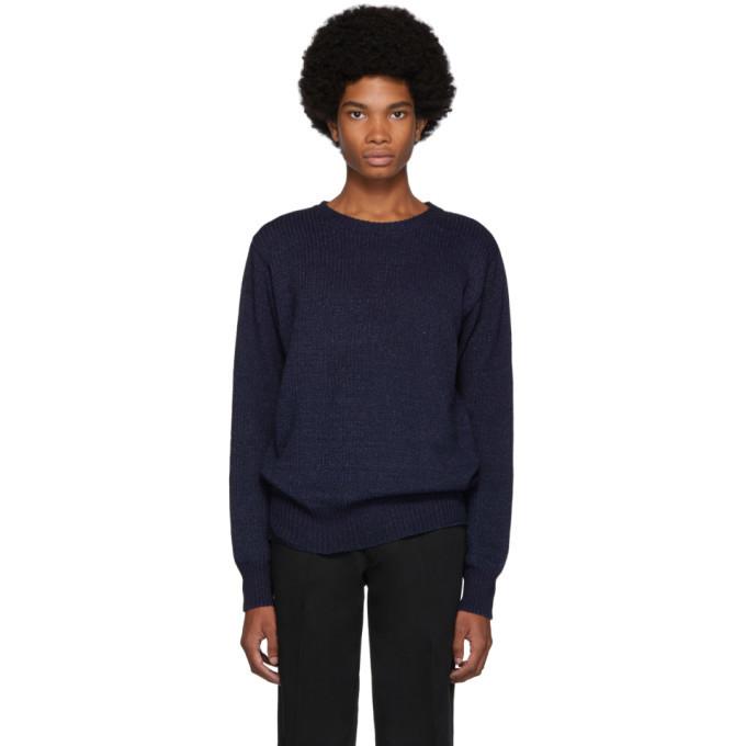 Photo: Blue Blue Japan Indigo Dyed Yarn Sweater
