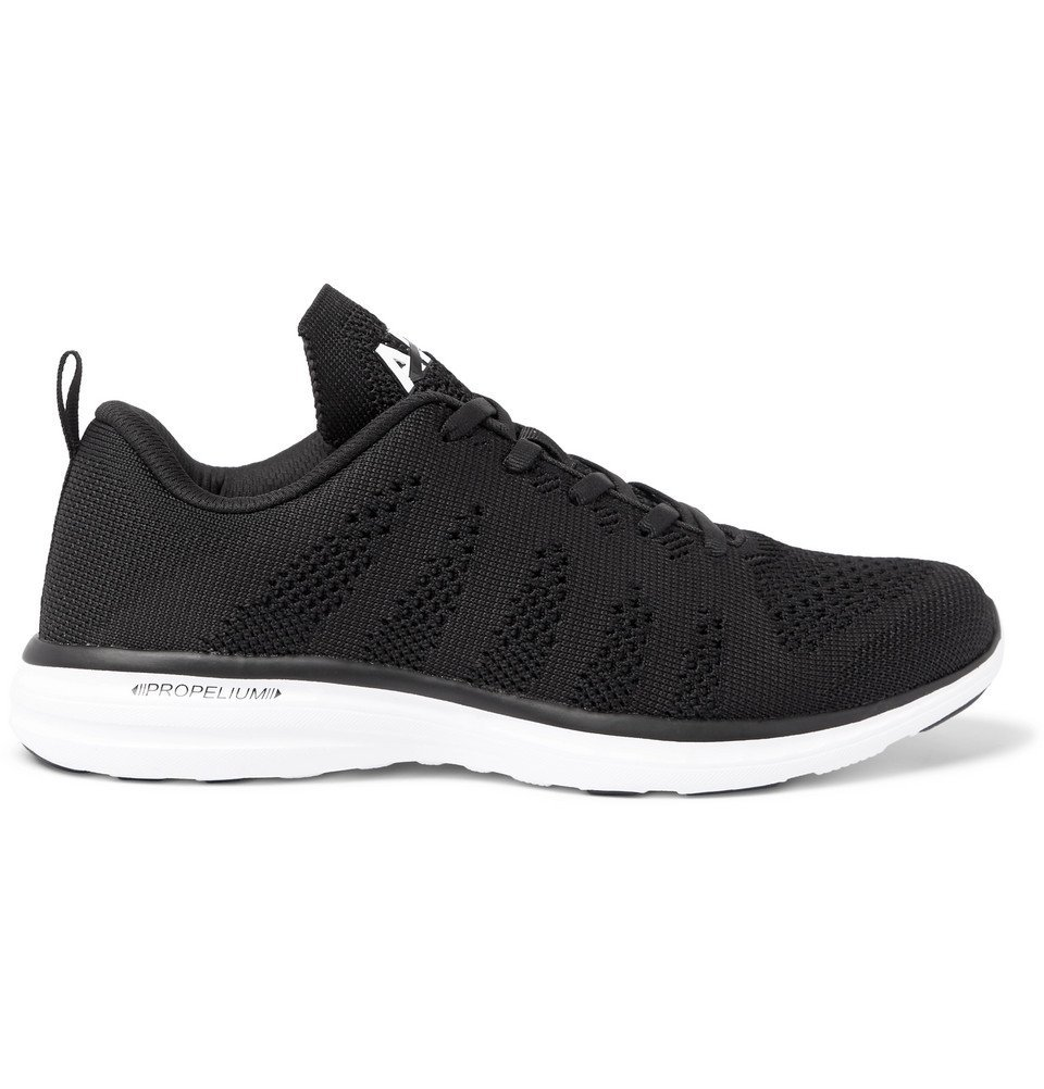 Photo: APL Athletic Propulsion Labs - TechLoom Pro Running Sneakers - Black