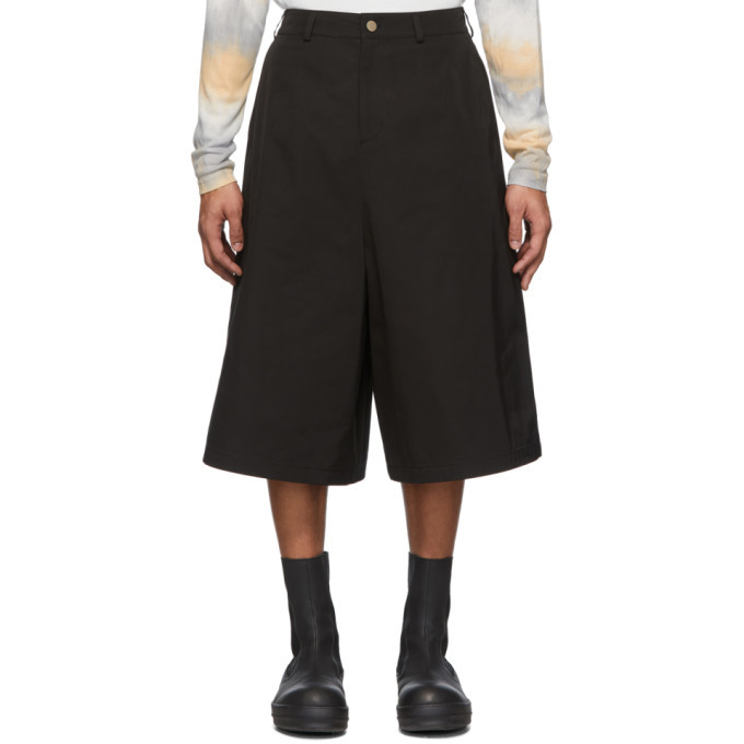Photo: Keenkee Black Capri Culotte Shorts