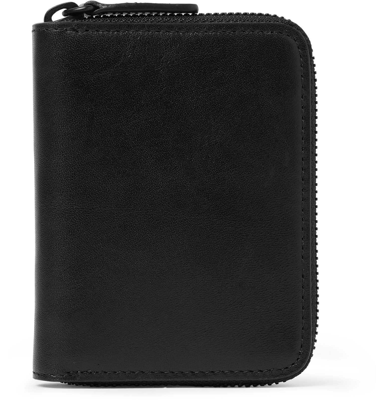 Common Projects - Leather Zip-Around Wallet - Black