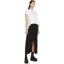 Sacai Black Wool Suiting Skirt