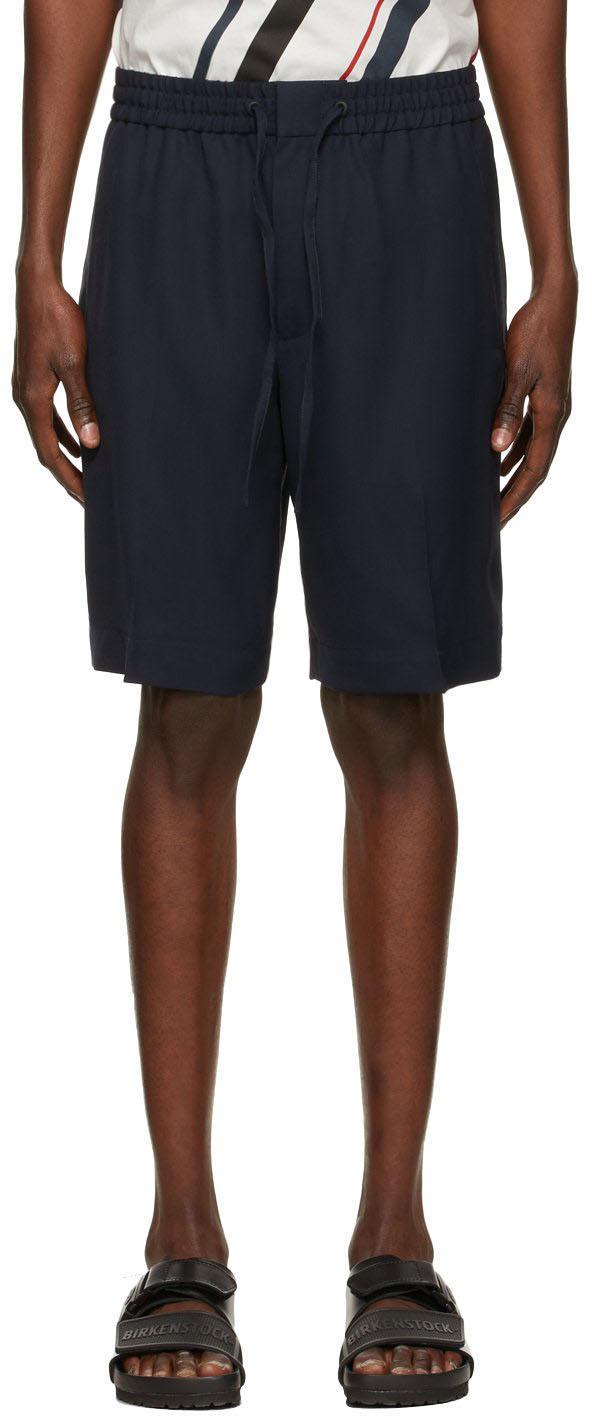 Photo: 3.1 Phillip Lim Navy Twill Cruiser Shorts