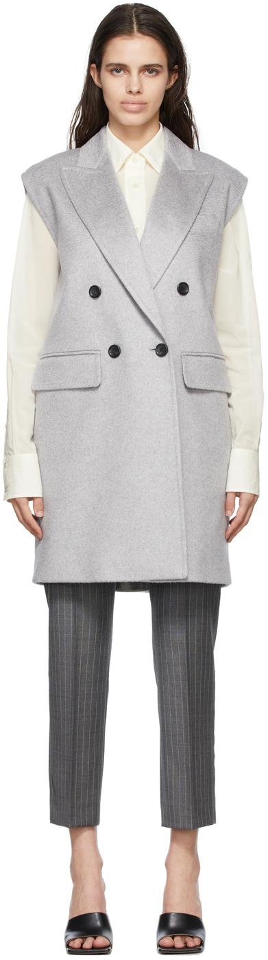 Photo: Max Mara Grey Scoglio Vest