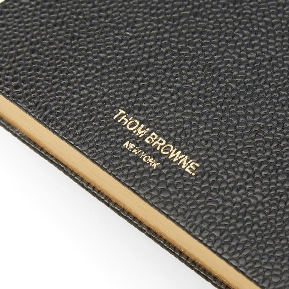 Photo: Thom Browne Large Leather Notebook