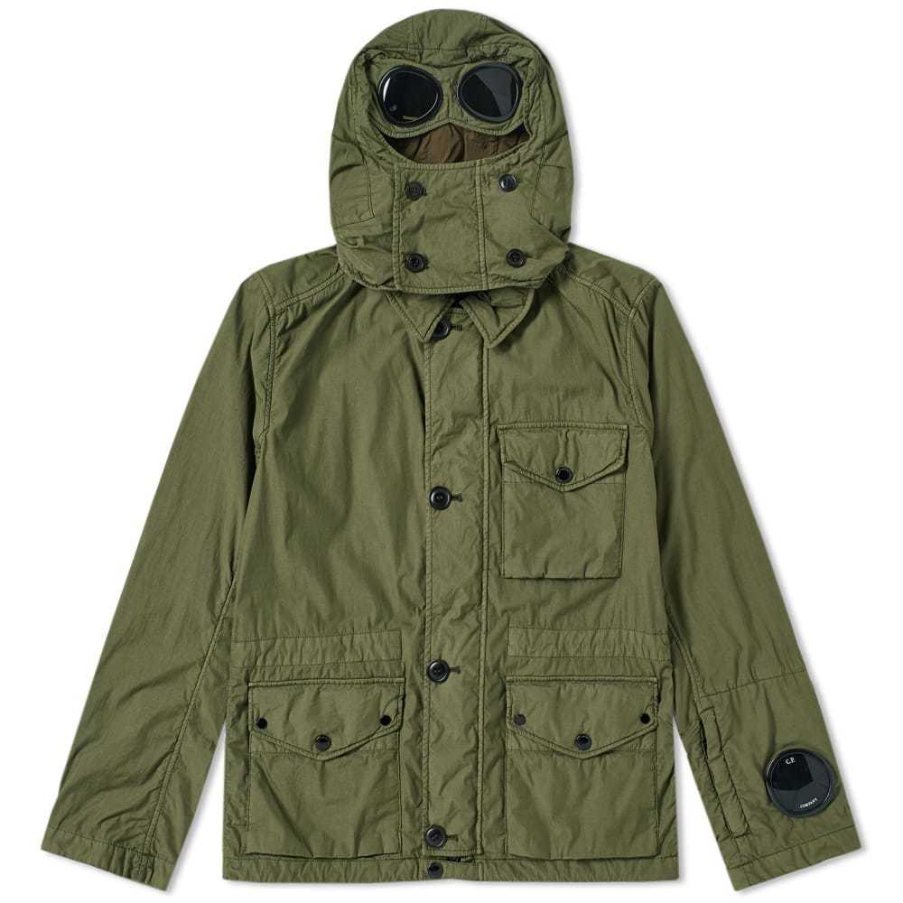 C.P. Company Classic 3 Pocket Millimiglia Goggle Jacket Green