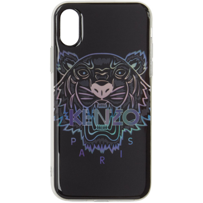 Photo: Kenzo Black Limited Edition Holiday Tiger iPhone X/XS Case