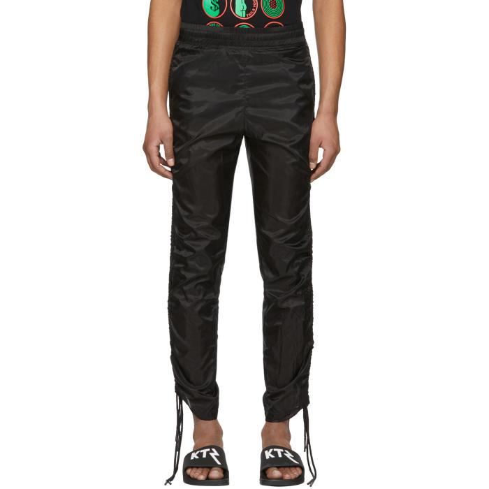 Photo: KTZ Black Drawstring Corded Lounge Pants