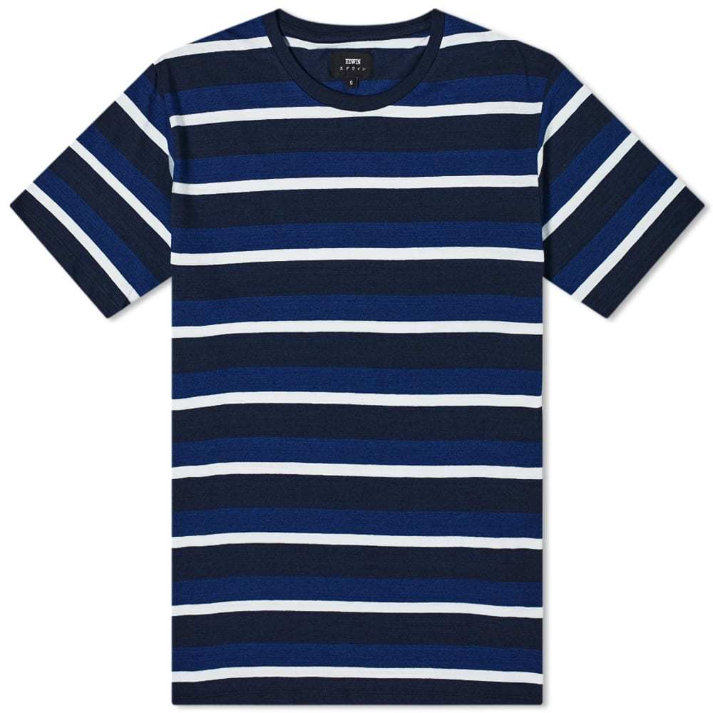 Photo: Edwin Cove Stripe Tee