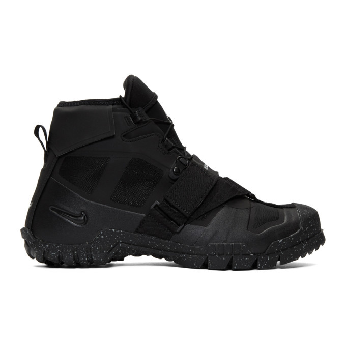 Photo: Nike Black Undercover Edition SFB Mountain Sneakers