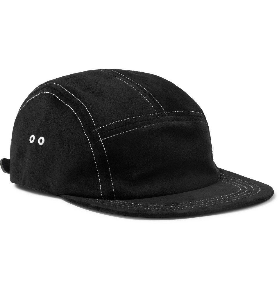 Photo: Hender Scheme - Waterproof Suede Baseball Cap - Black