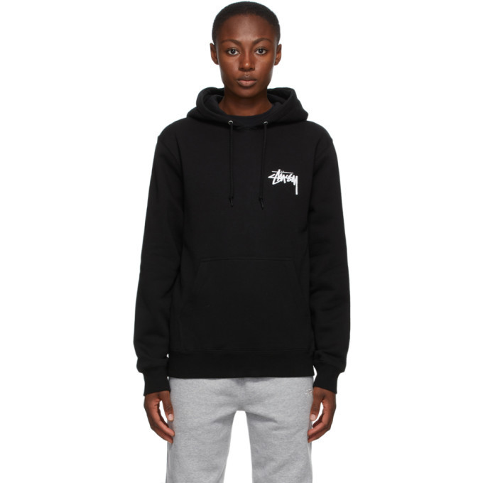 Photo: Stussy Black Peace and Love Hoodie