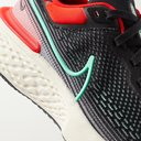 NIKE RUNNING - ZoomX Invincible Run Rubber-Trimmed Flyknit Running Sneakers - Black - 9