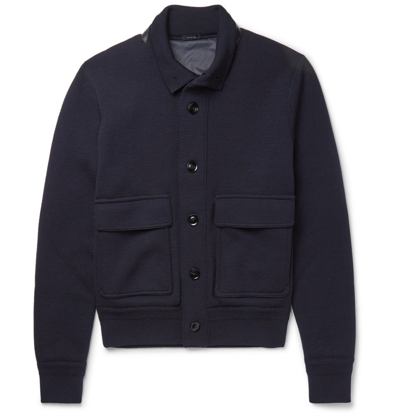 Photo: TOM FORD - Wool Bomber Jacket - Blue