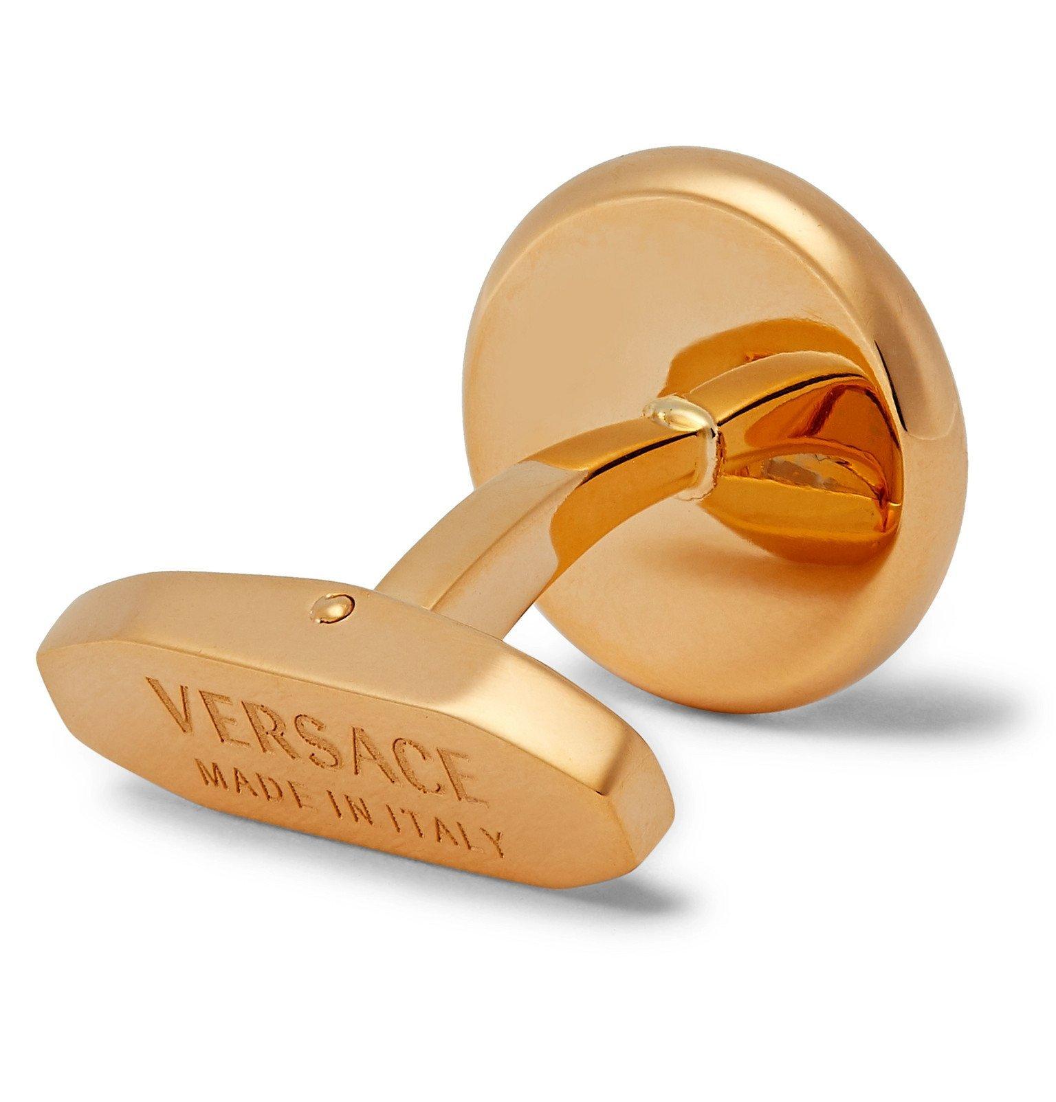 Versace - Gold-Tone Cufflinks - Gold