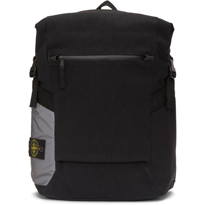 Photo: Stone Island Black 91670 Backpack