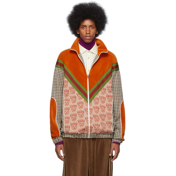 Photo: Gucci Orange Tiger Heads Sweater