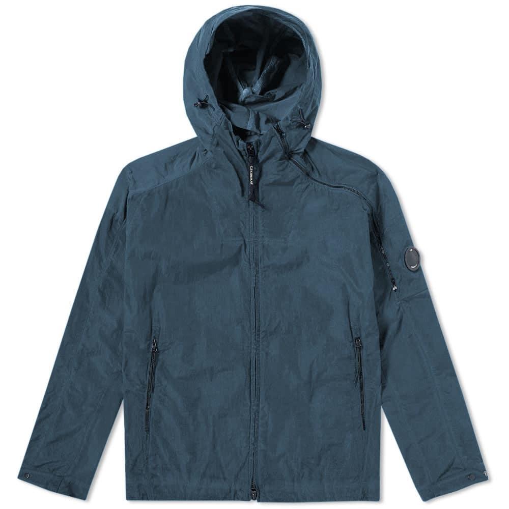 C.P. Company Chrome Hooded Jacket Black