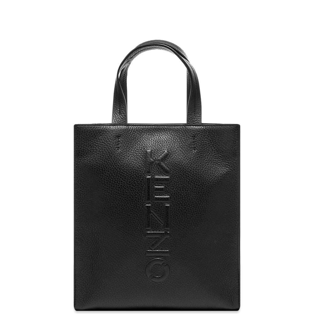 Photo: Kenzo Small Leather Logo Shopper Bag