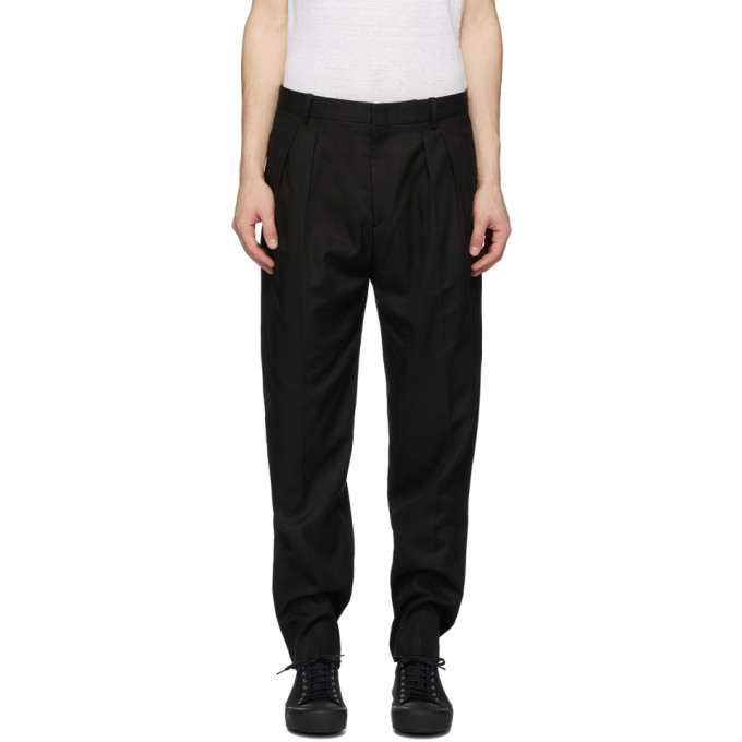 Photo: Isabel Marant Black Nerias Trousers