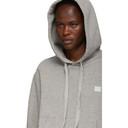 Acne Studios Grey Ferris Face Hoodie