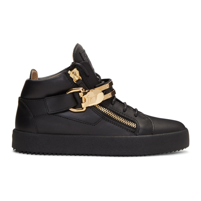 Photo: Giuseppe Zanotti Black May London High-Top Sneakers